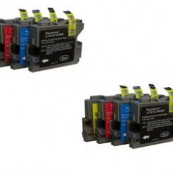 Brother Dcp-135c Driver, software, Setup for Windows & Mac 8 Ink Cartridges Patible with Brother Dcp 130c Dcp 135c