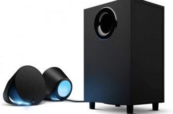 Logitech G560 Driver, software, Setup for Windows & Mac Logitech G560 Lightsync Pc Gaming Speakers with Game Driven Rgb Lighting