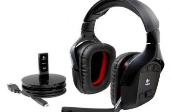Logitech G930 Driver, software, Setup for Windows & Mac Logitech Wireless Gaming Headset G930 with 7 1 Surround sound Wireless Headphones with Microphone