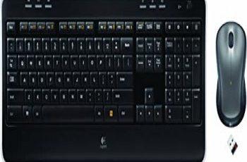 Logitech K520 Driver, software, Setup for Windows & Mac Logitech Mk520 Keyboard and Mouse