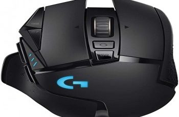 Logitech G503 Driver, software, Setup for Windows & Mac Logitech G502 Lightspeed Wireless Gaming Mouse with Hero 25k Sensor Powerplay Patible Tunable Weights and Lightsync Rgb Black