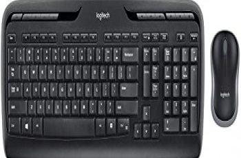 Logitech K330 Driver, software, Setup for Windows & Mac Logitech K330 Wireless Desktop Keyboard and Wireless Mouse Bo — Entertainment Keyboard and Mouse 2 4ghz Encrypted Wireless Connection Long