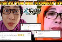 Kumpulan Foto dan Video Ibu Sri Viral Tiktok